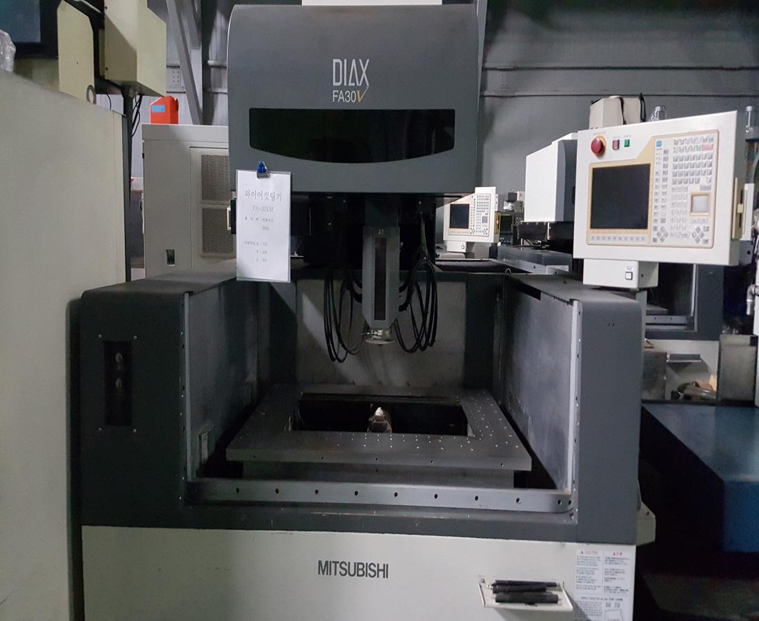 미쓰비시와이어컷팅기FA30VM