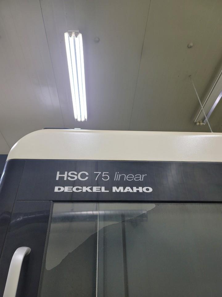디엠지모리고속가공기HSC75Linear